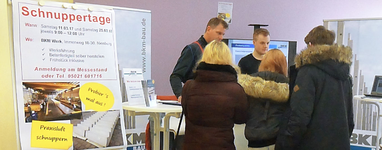 Ausbildungsplatzmesse in Nienburg