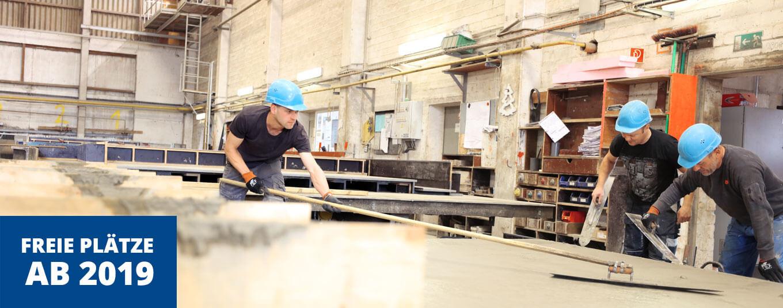 Ausbildung Stahlbetonbauer