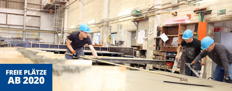 Stahlbetonbauer Ausbildung ab 2020