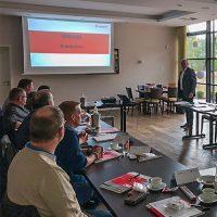 Hervorragende Resonanz beim Firmenseminar zum Thema Brandschutztechnik