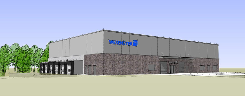 Neubau Niederlassung Walter Wesemeyer GmbH bei Rendsburg