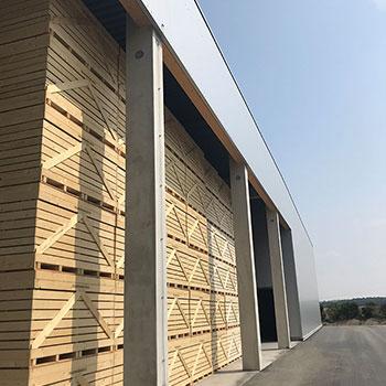 Falkenhain Errichtung Lagerhalle